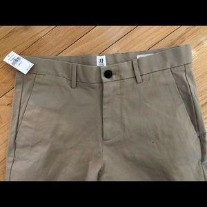NWT Men's Gap Khaki Skinny Pants 29x30
